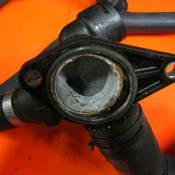 アウディA4冷却水&オイル漏れ
